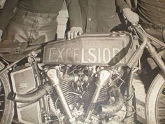 (American) Excelsior motorcycle, before their merger with Henderson.