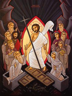 Religious Images, Religious Art, Lives Of The Saints, Christ Is Risen, Jesus Resurrection, Holy Week, Orthodox Icons, I Icon, Christian Art
