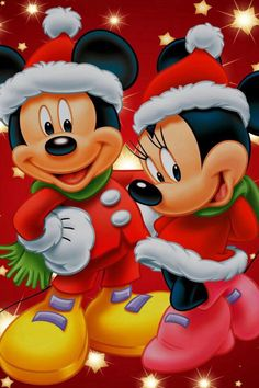 Full Diamond Painting Kits Disney Mickey and Minnie Mouse Christmas Theme Cross Stitch Rhinestones Mosaic Home Decor Gifts Wall Painting Disney Mickey Mouse, Natal Do Mickey Mouse, Mickey Mouse E Amigos, Retro Disney, Minnie Mouse Christmas, Mickey Mouse And Friends, Disney Fun, Disney Magic, Merry Christmas