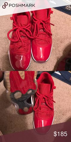 Gym Red Retro 11 Worn In Good Condition. Jordan Shoes Sneakers