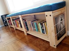 20+ Of The Most Creative Bookshelves Ever - Bookshelf Bench