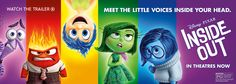 Meet the little voices inside your head - Disney/Pixar Inside Out in Theaters Now - Watch the trailer