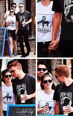 ❤❤ rob and kristen