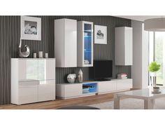LIVO vzorová sestava 2, bílá Příkladová sestava obývacího pokoje LIWO. Uvádíme pouze jako ilustrativní příklad jedné z možných sestav, kterou lze poskládat z jednotlivých segmentů. Jednotlivé díly si je možno vybrat a koupit každý zvlášť. … Bathroom Lighting, Entryway, Mirror, Live, Furniture, Home Decor, Products, Living Room, House