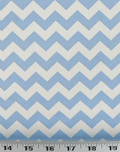 Chevron Lt Blue | Online Discount Drapery Fabrics and Upholstery Fabric Superstore!