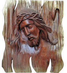 Resultado de imagen de cristos tallados en madera