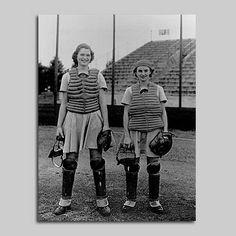 1940s vintage all american girls professional baseball league a.a.g.p.b.l.