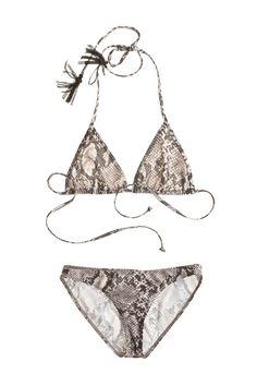 Majadi Snake Print Bikini