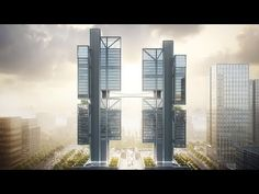 Foster   Partnershas integrated askybridge into its headquarters for Shenzhen robotics companyDJI, allowing it to test out its latest drone technology.