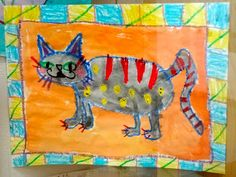 Folk Art Kids Art Lesson and whole bunch more awesome art lessons