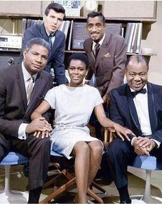 Frank Sinatra Jr Sammy Davis Jr Ossie Davis Cicely Tyson And