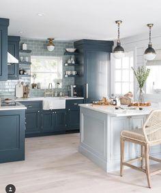 "5,245 Likes, 77 Comments - Kitchens of Instagram (@kitchens_of_insta) on Instagram: ""Love These Colors!  @boston_kitchen_bath @brightbazaar #kitchensofinsta"""