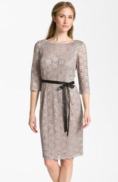 MOB- Alex Evenings Embellished Lace Overlay Dress available at #Nordstrom