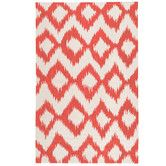 Found it at DwellStudio - DIAMOND IKAT POPPY RUG