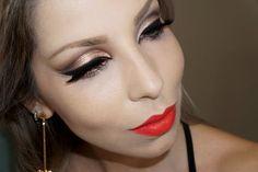 """A maquiagem """"poderosa e marcante"""" de Luciane Ferraes"""