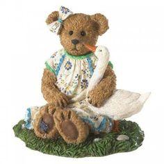 "BOYDS BEAR Homeware  11/"" Bless us All Angel Bear Plate New!! Set of 2"