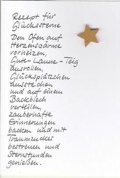Weihnachtskarte Rezept von Kartenfreude auf DaWanda.com