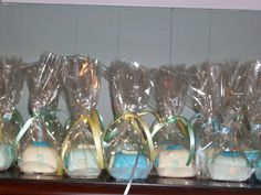 Homemade baby shower favors for a boy baby douche gunsten idee n