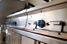 Restaurant kitchen detail