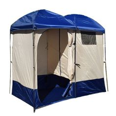 Portable Cabana Stripe Changing Room Privacy Tent Pool Camping - Closet ideas for tent camping