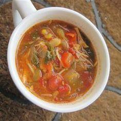 Enchilada Chicken Soup @ allrecipes.com.au