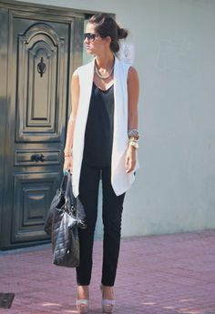 Zara Off White Cream Tuxedo Vest Sleeveless Jacket Blazer Sleeveless Blazer Outfit, White Vest Outfit, Long Vest Outfit, Sleeveless Jacket, Blazer Outfits, Casual Outfits, Fashion Outfits, Western Outfits, Stylish Clothes