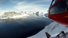 På ski i udkantsdanmark - heliski i Grønland