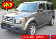 Used 2007 Honda Element 4WD EX in Monticello NY 12701 - 464518170