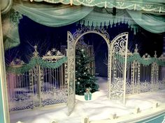 NYC stores ramp up wattage and wow with holiday window displays . Christmas Store Displays, Christmas Window Display, Nyc Christmas, Blue Christmas, Holiday, Xmas Decorations, Wedding Decorations, Disney Stencils, Wedding Entrance