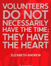 Rosehill Rocket PTA | VOLUNTEERS do not necessarily have the time; they have the heart.