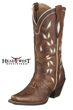 Ariat Brown Sonora Cowgirl Boots