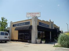 Cheever's, once a flower shop during the Route 66 heyday and now a popular OKC café.