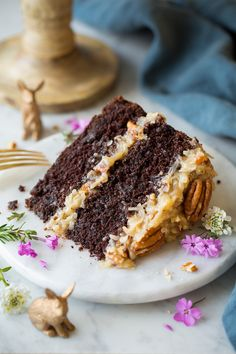 German Chocolate Cake - Cooking Classy