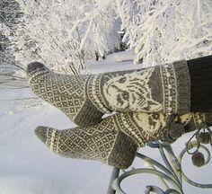 Kissimirrit by Lumi Karmitsa - cat socks knitting pattern