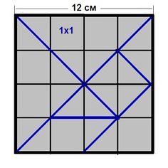 шаблон Tangram
