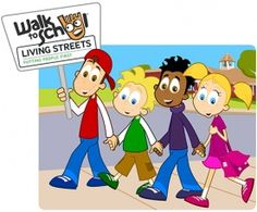Walk to School Week 2015   EducationCity UK