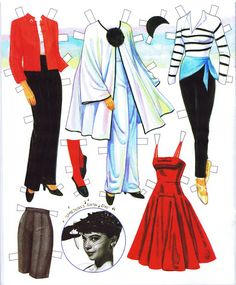 Leslie Caron Paper Doll by Marilyn Henry - Katerine Coss - Picasa Web Albums