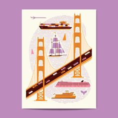Image of Golden Gate Bridge by the crazy awesome Lab Partners. Check them out: lp-sf.com