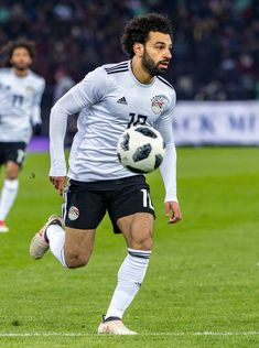 #10 Mohamed Salah of Egypt in action during the International Friendly between Portugal and Egypt at the Letzigrund Stadium on March 23, 2018 in Zurich, Switzerland.