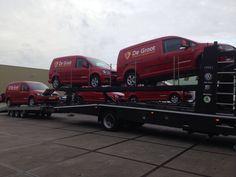 Aflevering voor firma De Groot Bewerkingsmachines B.V.   Autobedrijf Van den Udenhout