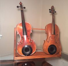 Wireless bluetooth speakers antique violins by V29S on Etsy