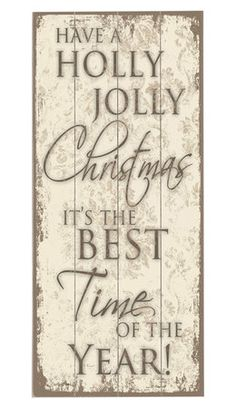 Best Time of Year Wall Decor