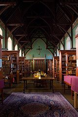 The Russell Library at NUIM.