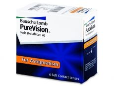 PureVision Toric (6čoček) - Bausch and Lomb