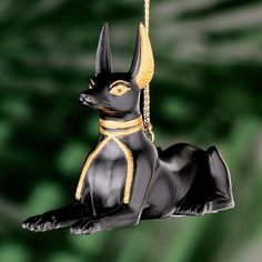 Design Toscano WU70064 Anubis Egyptian Holiday Ornament #DesignToscano