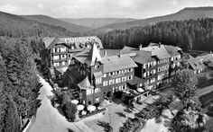 Hundseck Hotel, Black Forest, Germany—Why It's Creepy: Deep in the heart of Deutschland near Bühlertal, this rambling once-popular ski resort in the thickly forested mountains is an eerie reminder of the region's good old days. The grand old fin de siècle hotel operated until 1957, when it was converted to a camp for miners; it became a youth hostel in 1982, then finally shuttered in 2001.