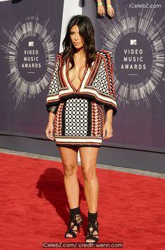 Kim Kardashian The 2014 MTV Video Music Awards at The Forum http://icelebz.com/events/the_2014_mtv_video_music_awards_at_the_forum/photo40.html