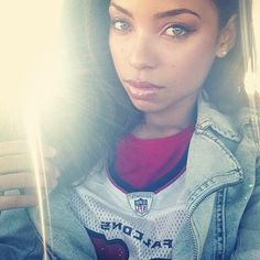 Gorgeous light skinned black girl