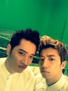 Chansung and Wooyoung