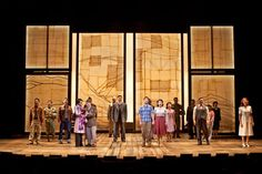 Allegiance. The Old Globe. Scenic design by Donyale Werle. 2015